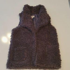 Coffee Shop New York Big Girls Soft Vest Size Lg